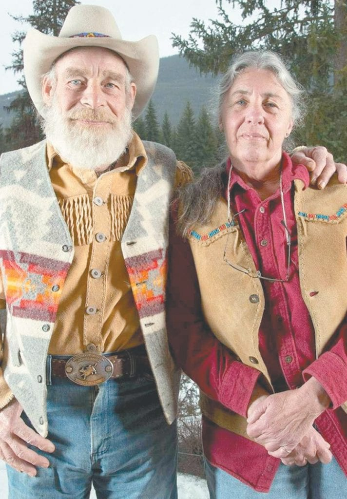 """Tom and Nancy Oar, two of the cast members of the History Channel's """"Mountain Men,"""" have recently retired to Florida. History Channel photo"""