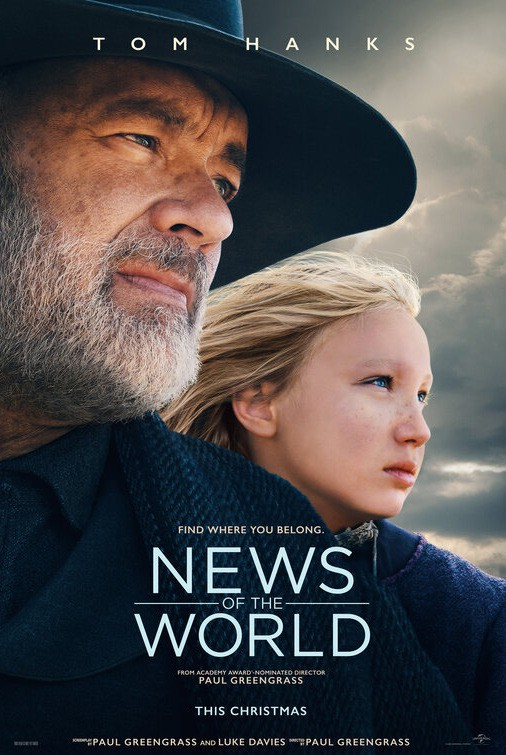 """News of the World"" is now playing in theaters and streaming ""On-Demand."""