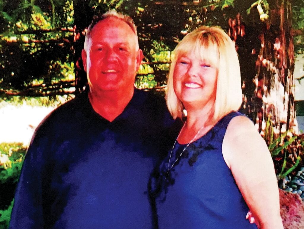 Chris Lambert and his wife, Susie. Lambert spent years trying to overcome the horrors he witnessed as a Marine in Vietnam and now focuses on love and forgiveness.